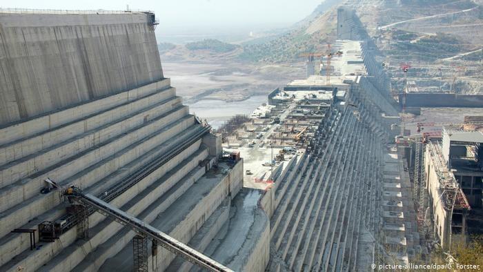 جزء من سد النهضة بإثيوبيا