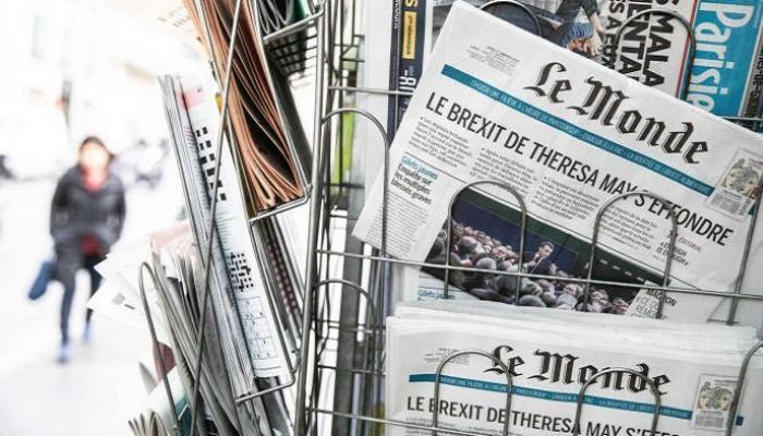 الصحف الفرنسية
