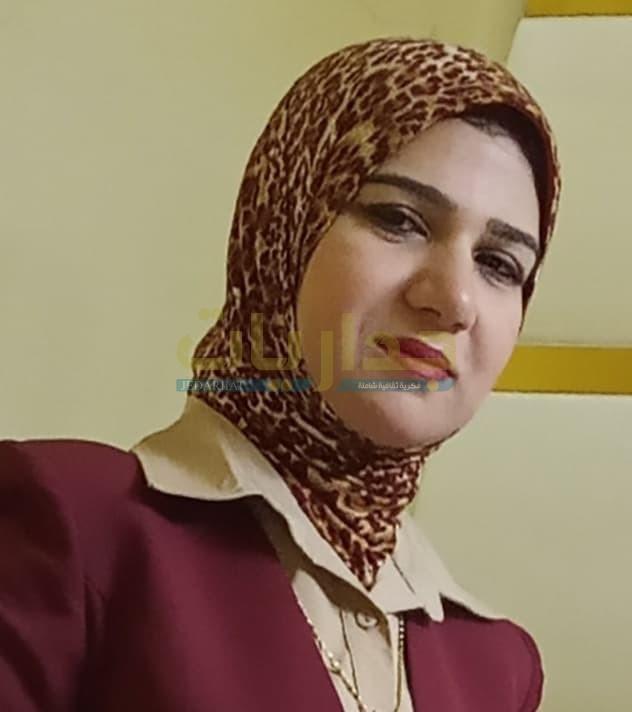 الكاتبة الصحفية نجلاء نور الدين بكر