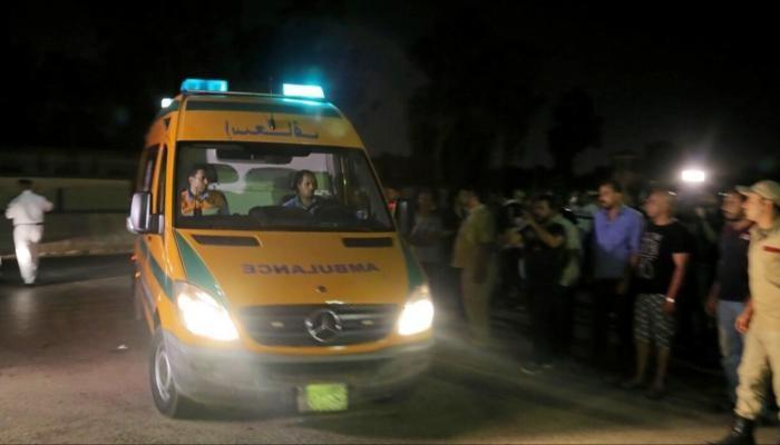 جثث من ضحايا غرق قارب غربي الإسكندرية