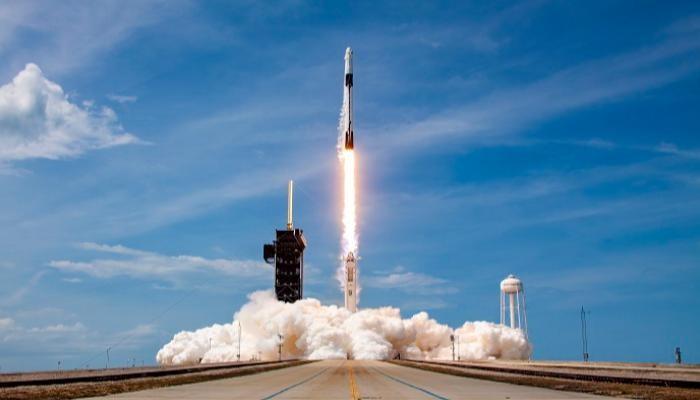 صاروخ سبايس إكس الفضائي- أرشيفية