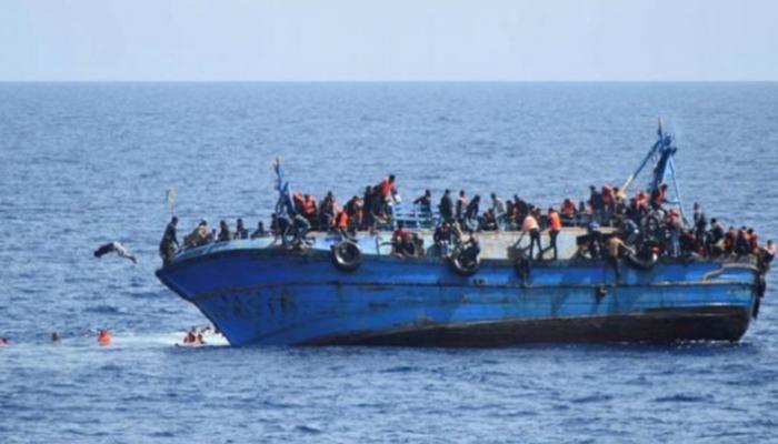 قارب للمهاجرين - أرشيفية