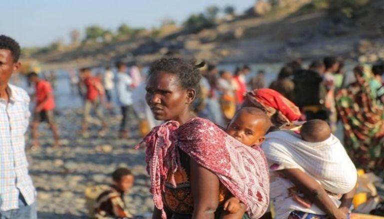 نازحون من إقليم تجراي في إثيوبيا