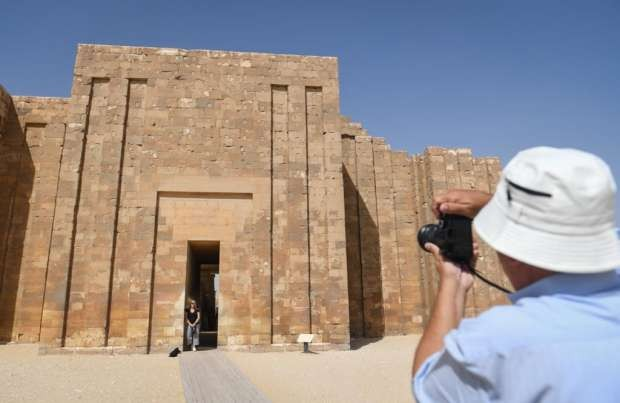 افتتاح مقبرة زوسر