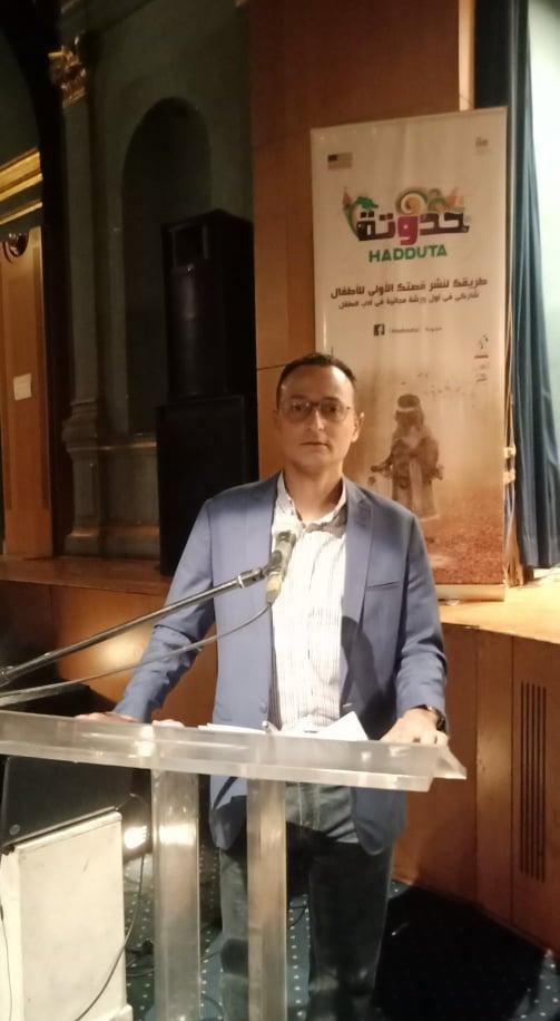 الناقد وكاتب الأطفال محمد سيد عبد التواب