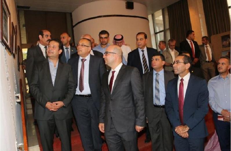 جانب من الفعاليات بحضور الوزير ابو سيف