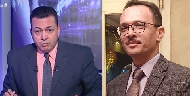 الإعلامي محمد صابر - والدكتور محمد جاد الزغبي