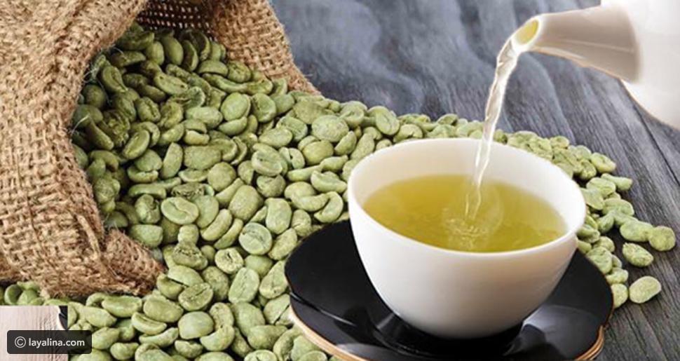 مشروب القهوة الخضراء