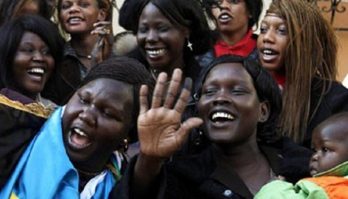تمثيل النساء في جنوب السودان