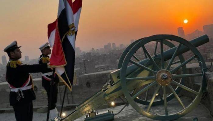 مدفع رمضان التاريخي في مصر