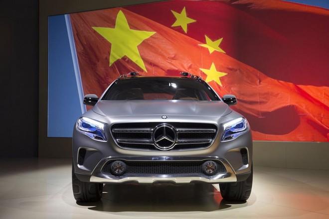 ارتفاع المبيعات لمرسيدس في الصين