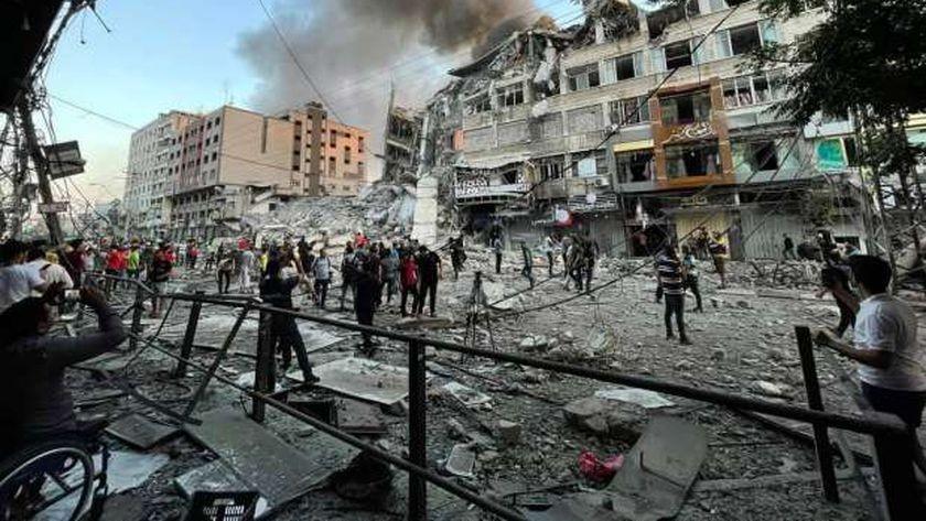 التدميرات بغزة