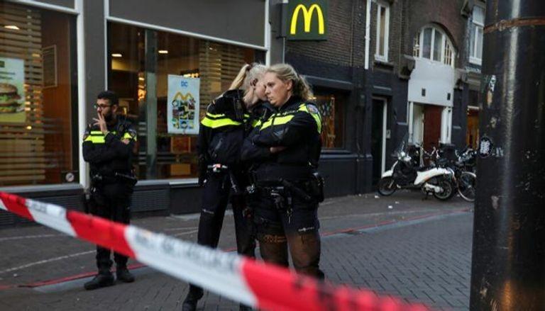 عناصر شرطية في هولندا