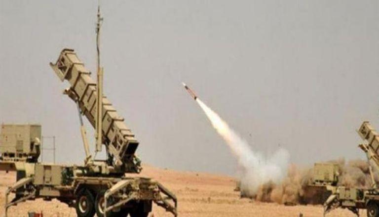 مضادات أرضية تابعة للتحالف العربي