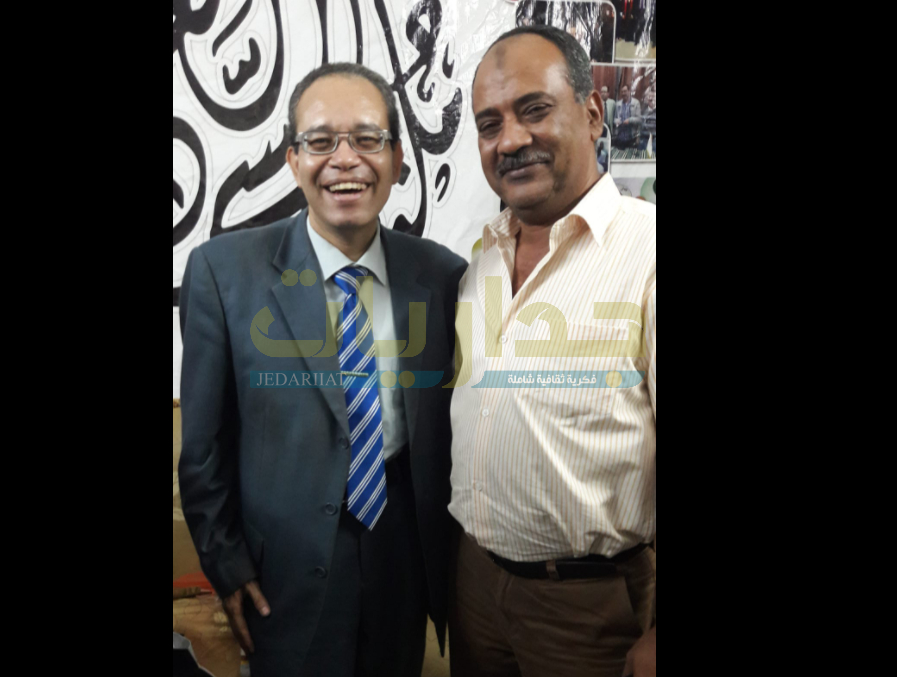 الكاتب محمد عواد - والدكتور حسام عقل